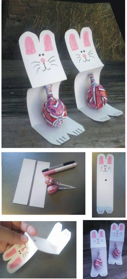 Las 25 mejores ideas sobre conejo de pascua en pinterest for Manualidades pascua