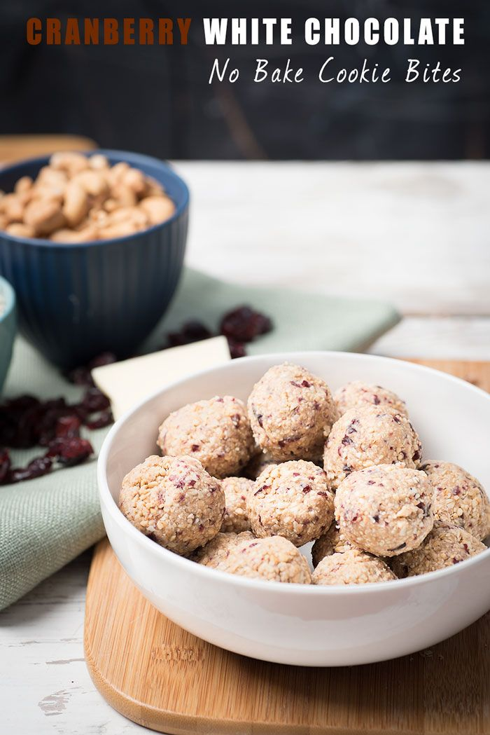 These Cranberry White Chocolate No Bake Cookies are a healthier alternative that are still tasty and super easy to make.