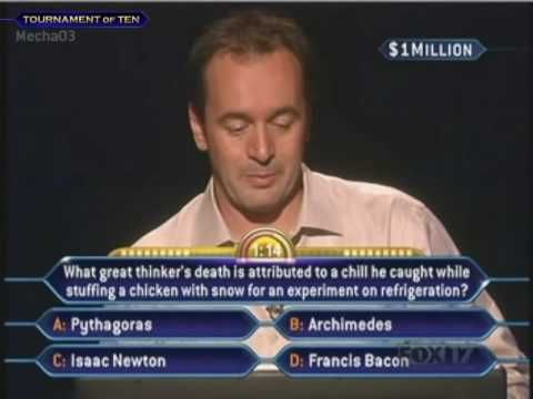 Tony Westmoreland's Million Dollar Question - Who Wants to be a Millionaire [Old Format] - http://internationalmillionairematch.com/blog/tony-westmorelands-million-dollar-question-who-wants-to-be-a-millionaire-old-format/