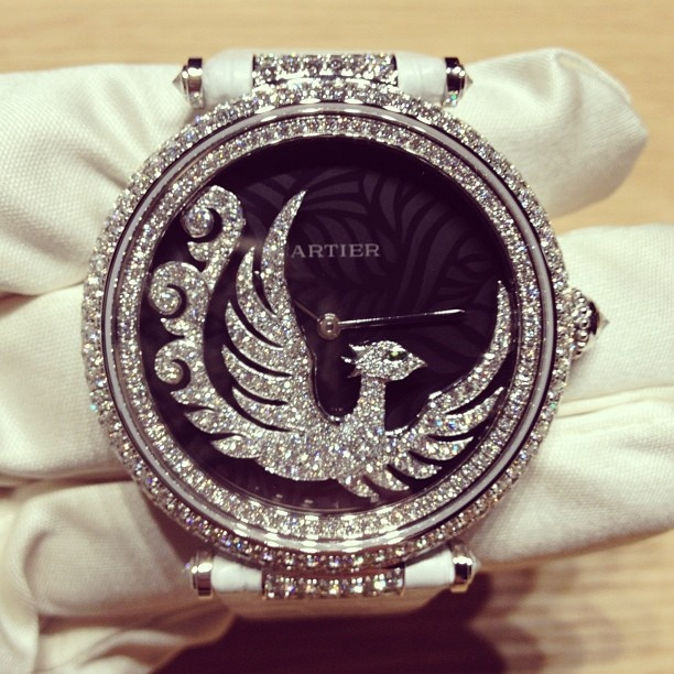 Cartier Phoenix watch #vremenagoda #precious #jewelry #watch #cartier #loveit - @vremena_goda- #webstagram