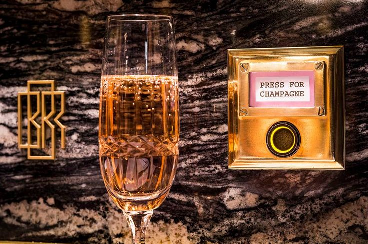So Fancy! Fine dining & champagne by the button! Bob Bob Ricard in Soho, Greater London