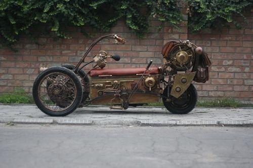 Steampunk Tendencies | Steampunk Tricycle by pofigist