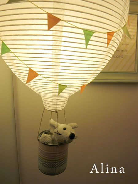 29.1.2015 Hi Everyone. Here is a link to this hot air balloon lamp's tutorial. Hope you like it. The winter time is here and it is a dark one. At best we only have daylight under 4 hours a da…