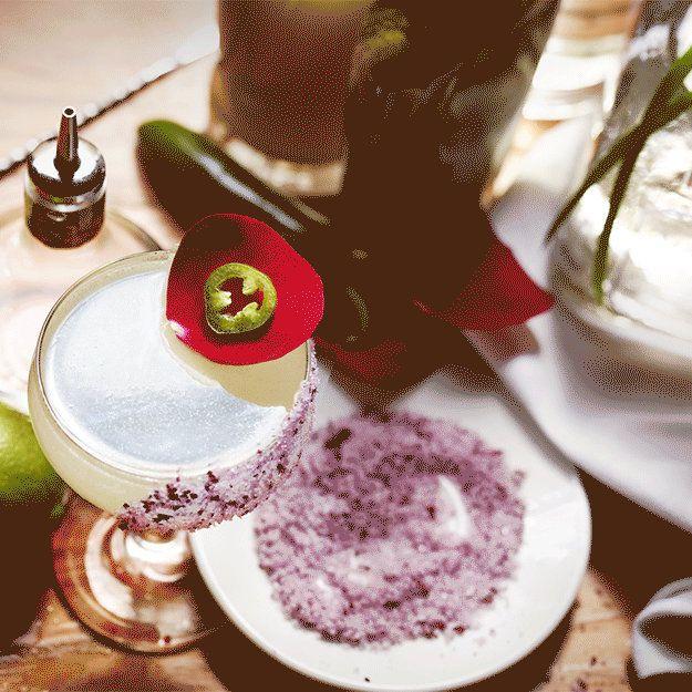 Spicy Margarita: The Rosa Picante Margarita by Jordan Corney. | #margaritas #cocktails