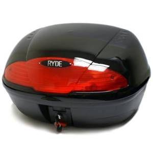 Ryde - Portapacchi per 2 caschi da moto 51l 2 - Nero