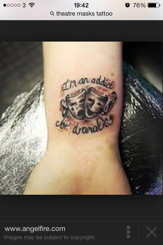 Theatre tattoo