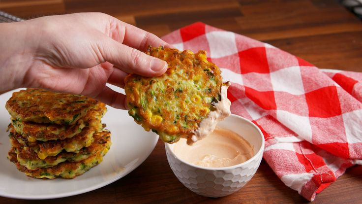 Zucchini Corn Cakes Are the Savory Pancakes You've Been Searching for