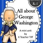 This activity packet is the perfect supplement to your George Washington unit. Printable classroom book, student printable books, and lots of oppor...