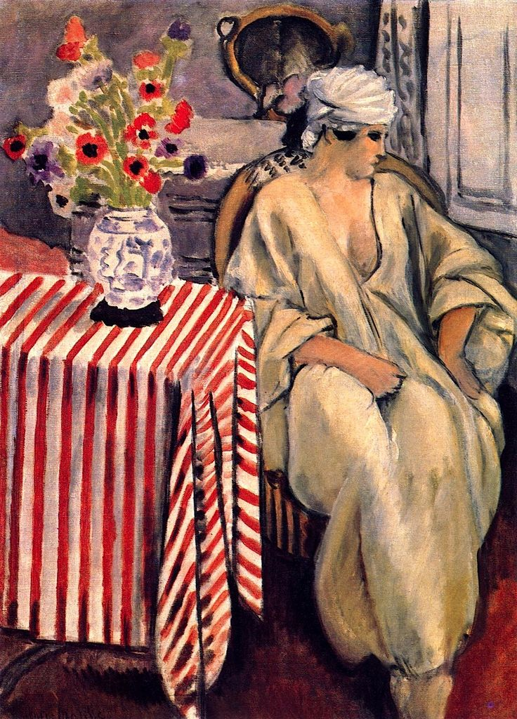 1920~1921 'The Meditation After the Bath' by Henri Matisse (1869~1954)