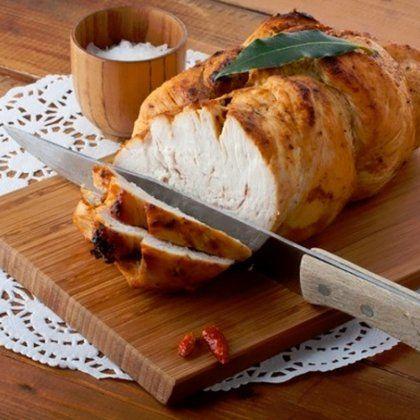 Куриная пастрома с мёдом и горчицей / Простые рецепты