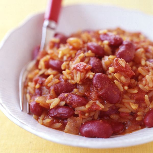 Weight Watchers Slow Cooker Red Beans and Rice: 6 Points+