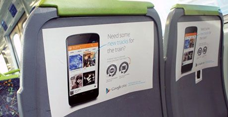 Google Play Music gets NFC promotion on Australian public transport