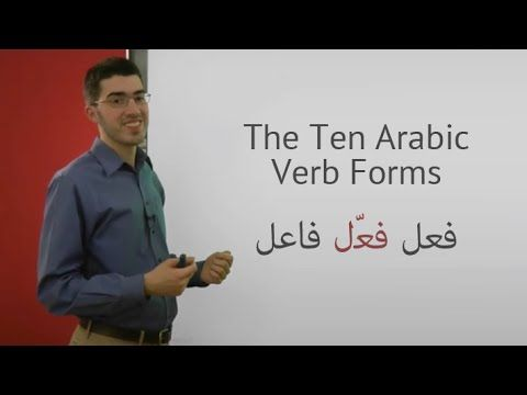Present tense & verb conjugation in Arabic - YouTube