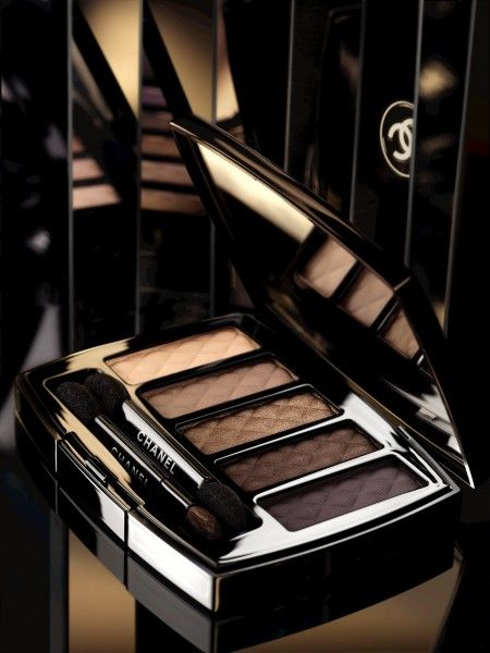 Fun Fierce Fabulous Beauty Over 50!: Beauty ~ Chanel Ombres Matelassées de CHANEL: Chanel Christmas Collection 2013