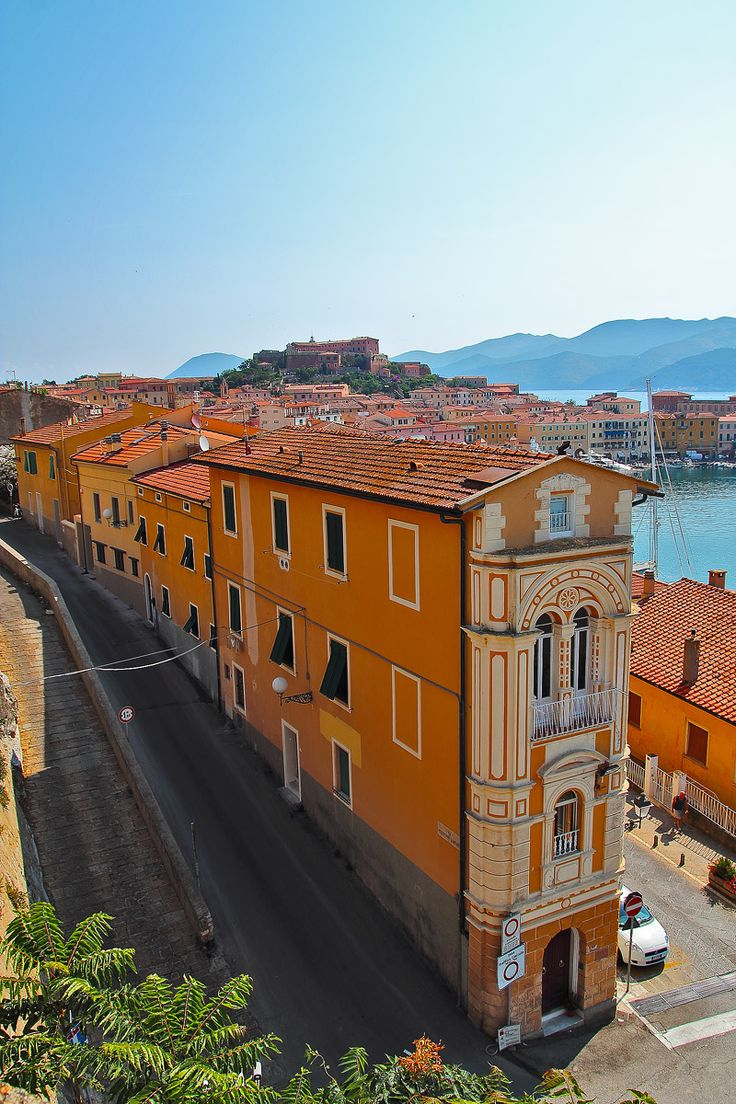 Portoferraio, Elba Island, Tuscany, Italy, province if Livorno