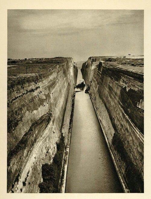Ισθμος Κορινθου 1935