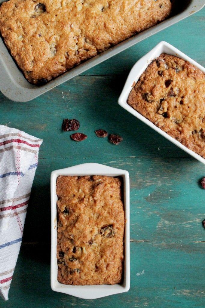 Orange, Date & Nut Loaf {Turte}  www.diethood.com  #recipes #quickbread
