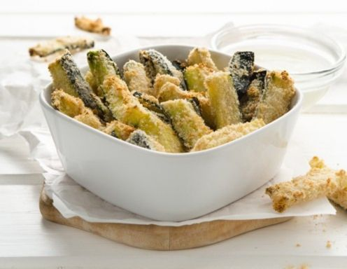 Gebackene Zucchini-Sticks Rezept
