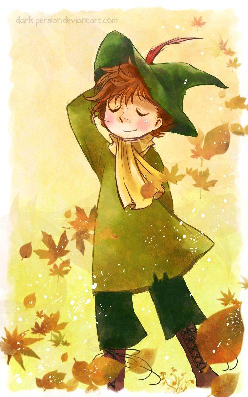 Snufkin - Autumn Breeze by meadow-rue.deviantart.com on @DeviantArt