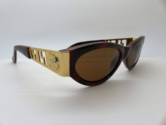 d1d841b2030 Versace Gianni Sunglasses Mod. 492 Col. 900 Genuine Rare Vintage New Old  Stock  fashion  clothing  shoes  accessories  vintage  vintageaccessories  (ebay ...