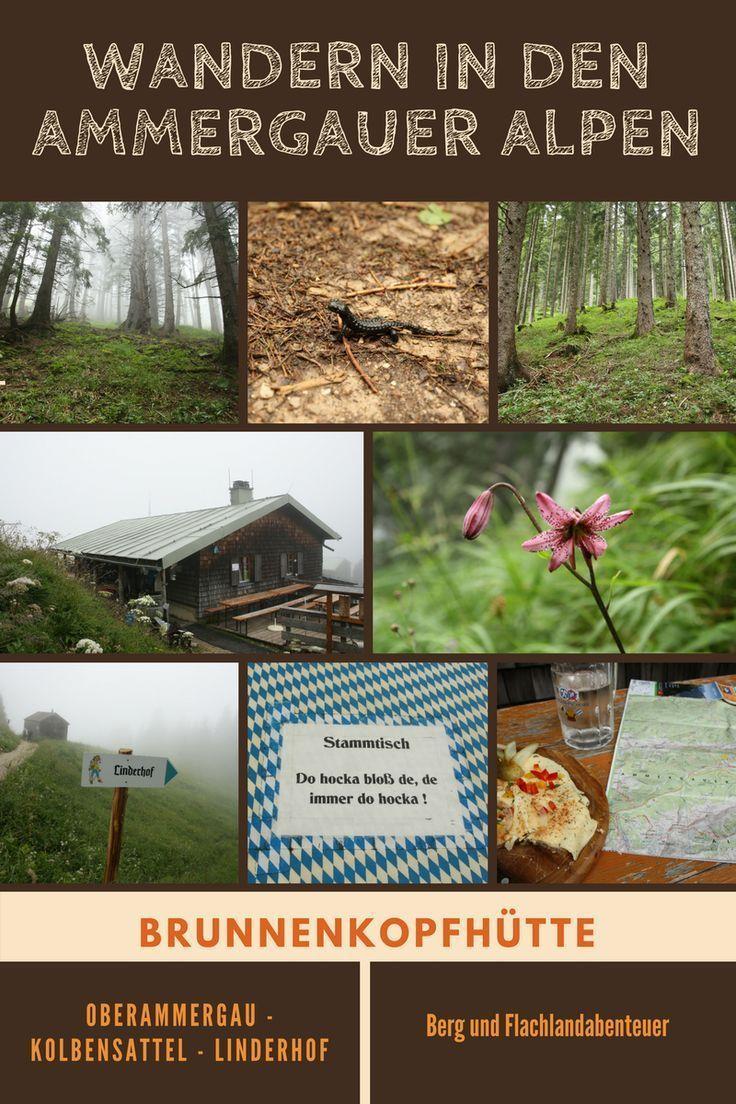 Nebel Uber Linderhof Wolkenwanderung Zur Brunnenkopfhutte Ammergauer Alpen Wanderung Wandern