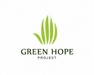 Green Hope - Creative Organic Theme Inspired Logo