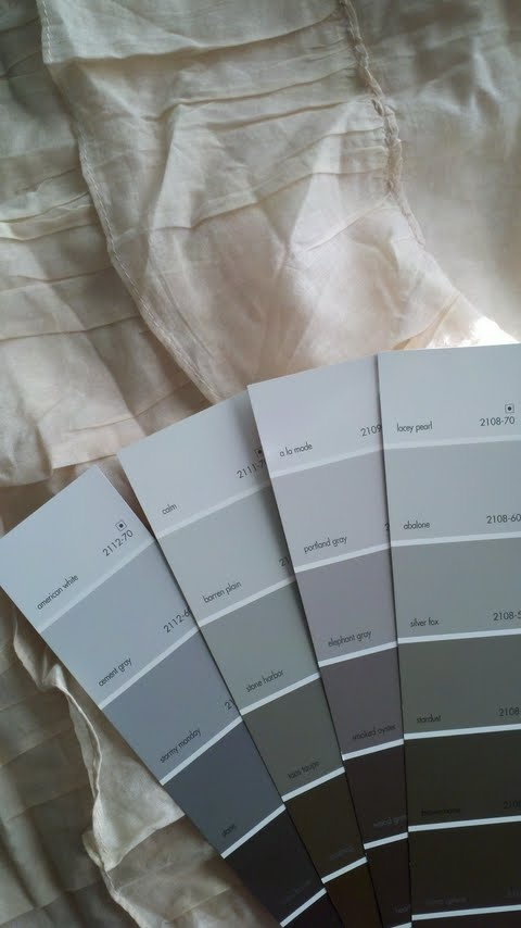 Gray color shades