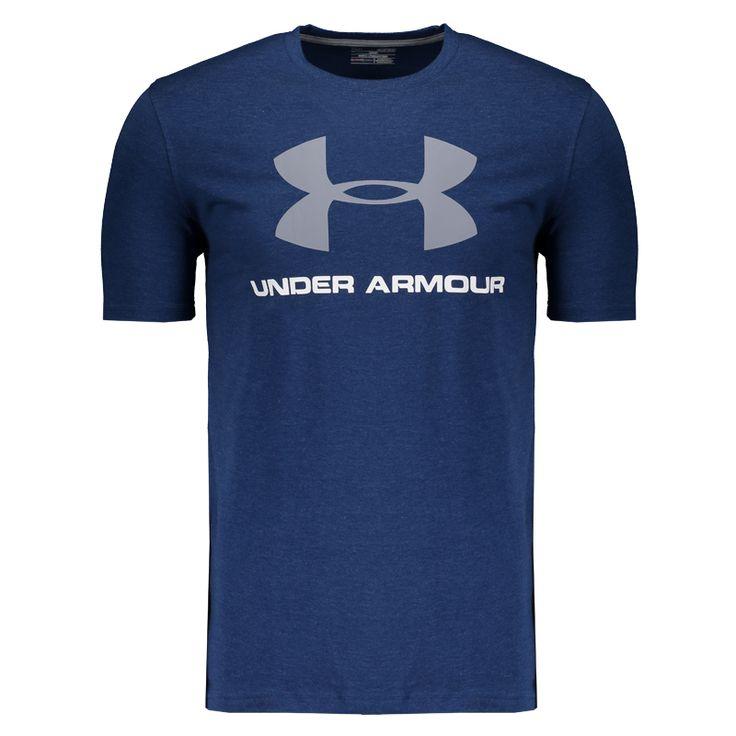 Camiseta Under Armour Sportstyle Logo Azul e Cinza Somente na FutFanatics você compra agora Camiseta Under Armour Sportstyle Logo Azul e Cinza por apenas R$ 99.90. Camisetas. Por apenas 99.90