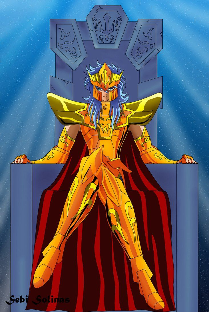 Saint Seiya - Poseidon Julian Solo | Saint Seiya | Pinterest: https://www.pinterest.com/pin/458311699550391486