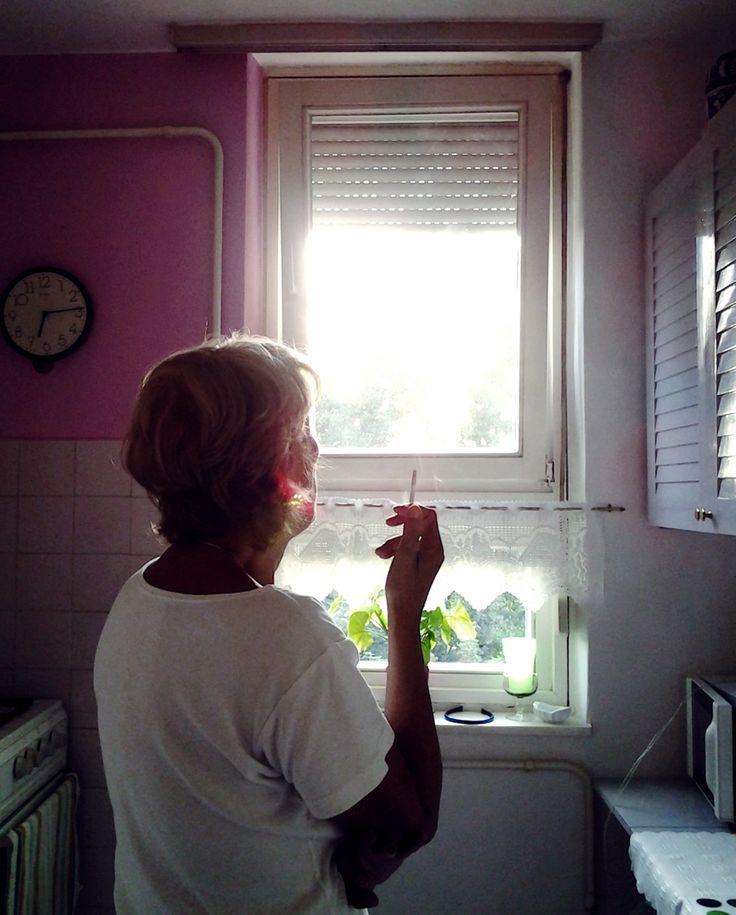 #smoke #cigarette #white #kitchen #lady #home #design