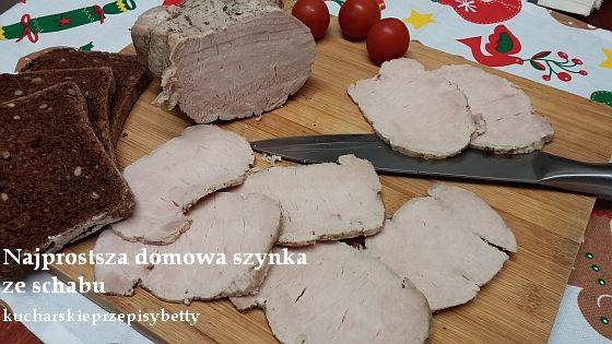 Domowa szynka ze schabu. Blog w którym znajdziesz przepisy na gotowanie, tworzenie, pieczenie, grillowanie, dekorowanie. Ze mną ugotujesz smacznie!