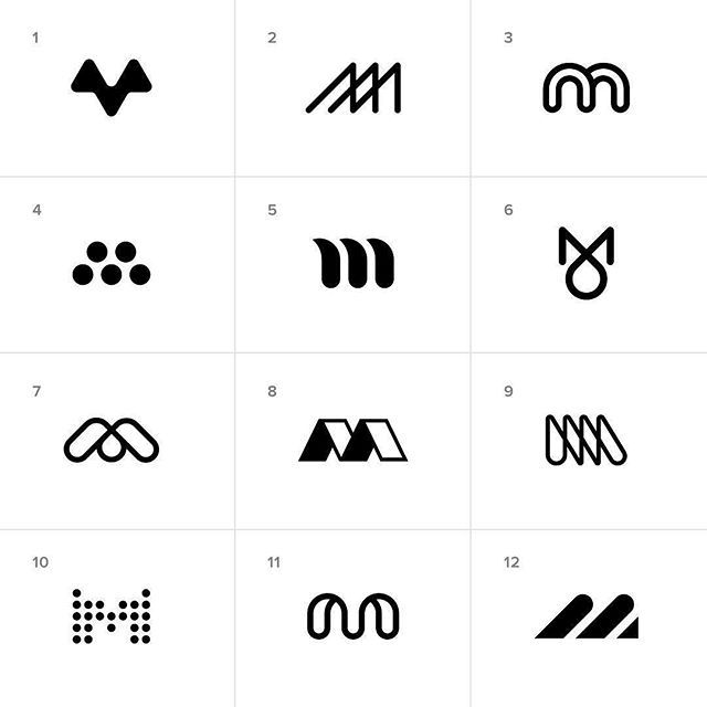 Monogram (M) process by @kevinburr82