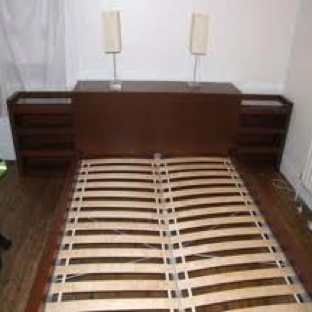 Ikea malm bookcase headboard combo for the home pinterest malm ikea ma - Tete de lit ikea malm ...