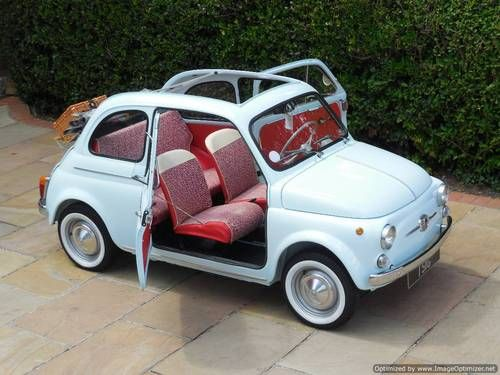 Fiat 500D Trasformabile 1964 - LHD Fully Restored As New! For Sale