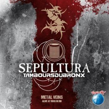 """L'album dei #Sepultura intitolato """"Metal Veins - Alive at Rock in Rio""""."""