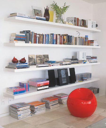 Organize seus livros - Estante