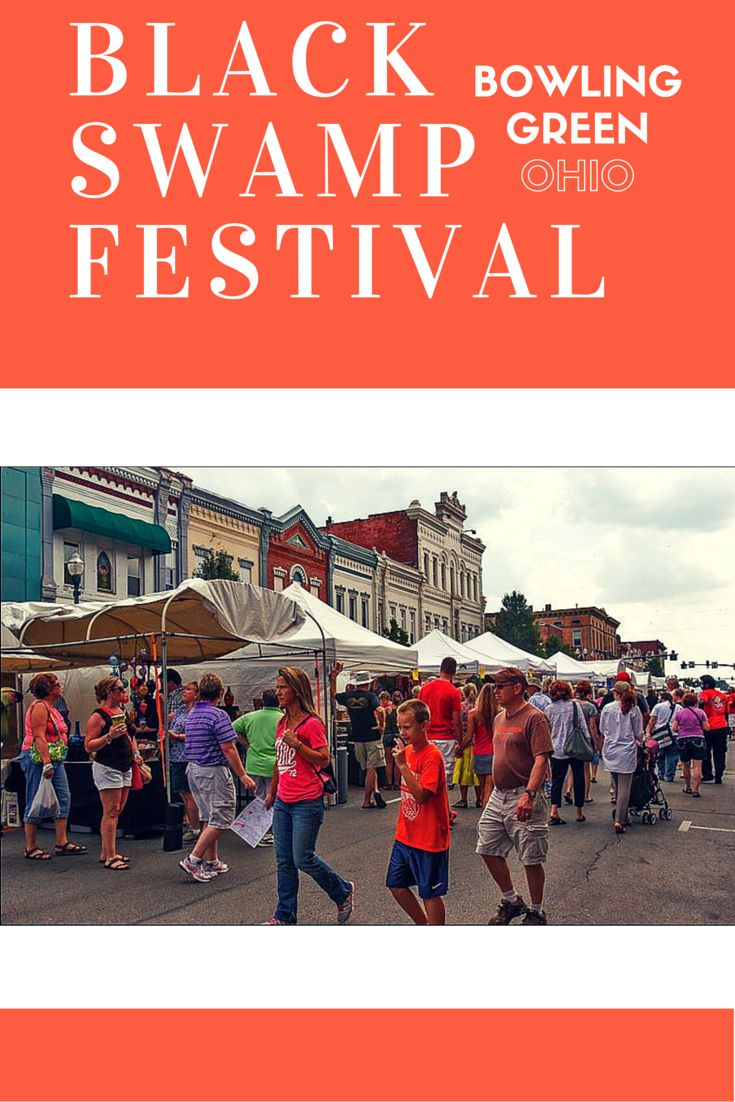 Enjoy local art, food vendors, and entertainment and more! Happening all day and all night. All happening in Downtown Bowling Green, Ohio. #BlackSwampFestival http://www.blackswampfest.org