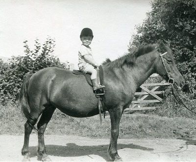 Robert Hall on his pony, who brought Dressage to the world after studying at the Spanish Riding School in Austria, coached the British Olympic Equestrian Team through four Olympics, invented the Fulmer bit and dressage saddle by tweaking the tack used at the Spanish Riding School, and enriched the lives of many children and adults at his Fulmer School of Equitation.  One of the greatest equestrians of all time.  R.I.P. Mr. Hall.