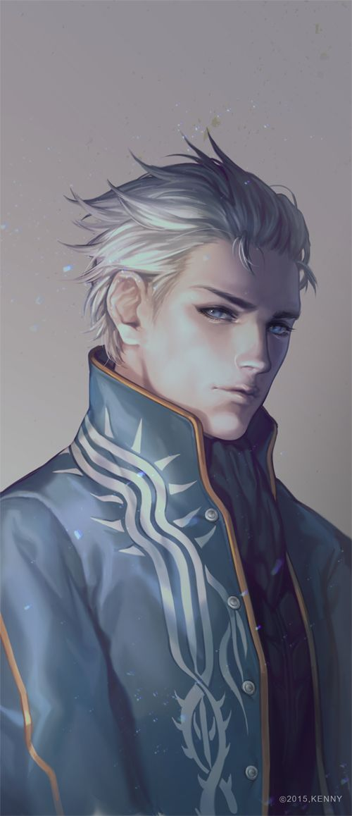 Vergil Devil May Cry Art