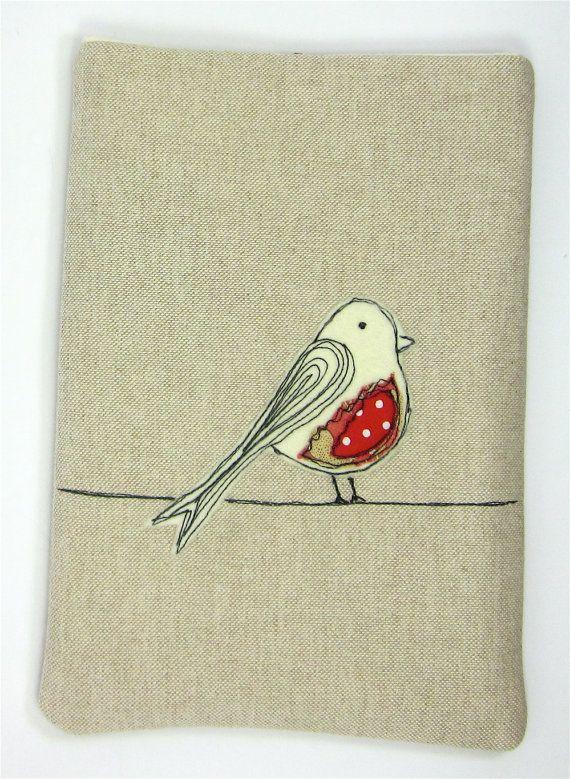 iPad Case iPad Cover iPad Sleeve Red Bird