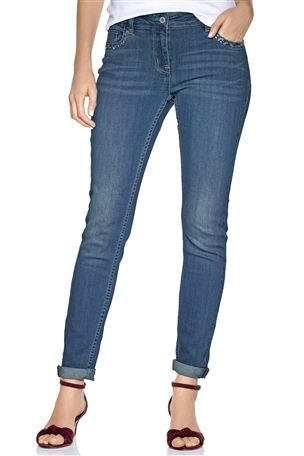Womens Embellished Relaxed Skinny Jeans by Next | All the Denim ...