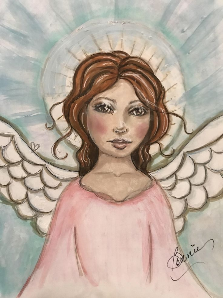 A personal favorite from my Etsy shop https://www.etsy.com/listing/537218416/amazing-gracewatercolor-guardian-angel