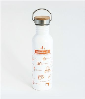 Check out this cute camping themed Adventure Water Bottle from TMOD! Perfect for campers (particularly forgetful ones) - printed on it is a checklist with everything you need for your next adventure