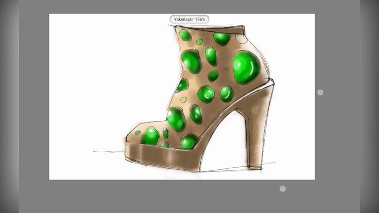 Ayakkabı Tasarım Süreci 01
