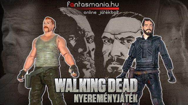 A zombi filmek kedvelőinek nagy örömére már fut a Walking Dead új évada. Ennek alkalmából új nyereményjátékkal jelentkezünk. Nyeremény: Walking Dead figura.