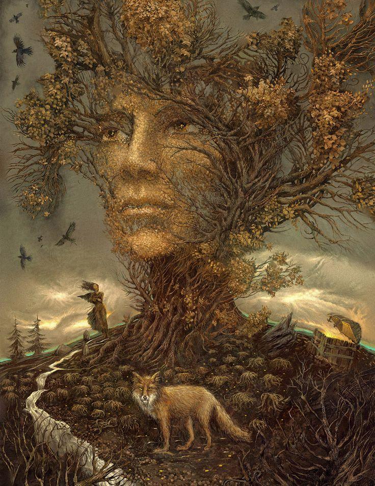 Illustration by Andrew Ferez for Tatiana Korsakov's 'Witch's Treasure'