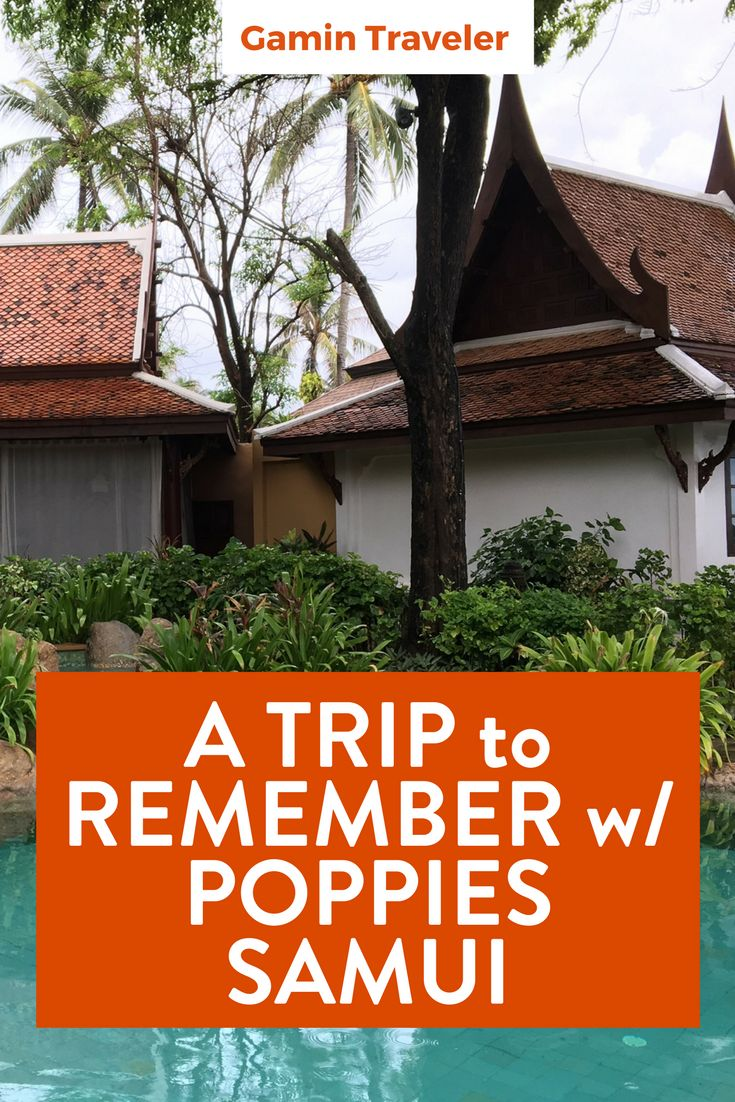 Where to sleep in Koh Samui? Amazing time in Thailand beaches at Poppies Samui Poppies Samui: A Unique Experience in Koh Samui via @gamintraveler