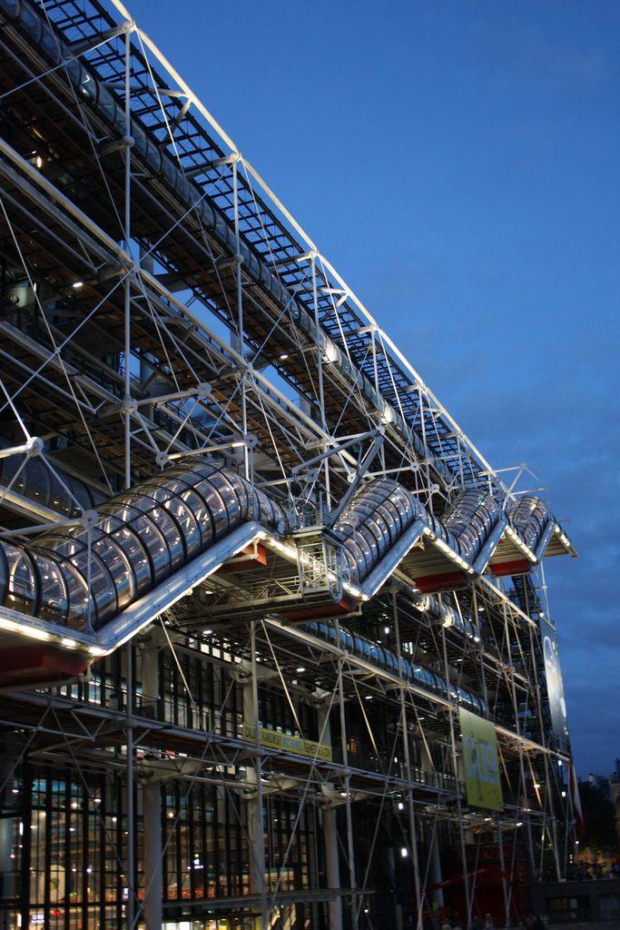 17 best images about architecture le centre pompidou on - Centre george pompidou architecture ...
