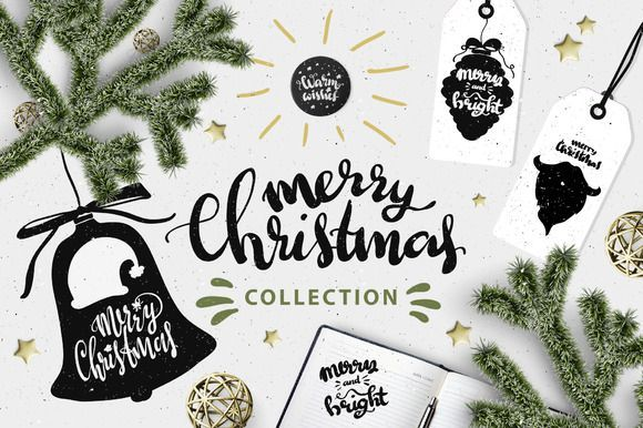 Best Happy Christmas holidays CreativeWork247 - Fonts, Graphics, Themes, Templates...