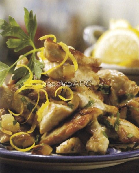 Citromos-fokhagymás csirkemell | Receptek